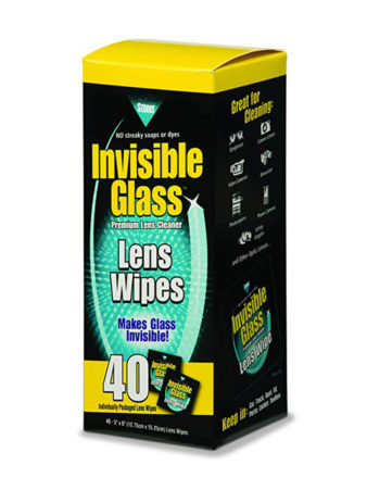 Invisible Glass Lens & Screen Wipes - 40 Pack