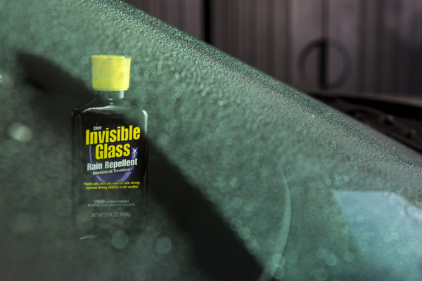 Invisible Glass Rain Repellent Windscreen Treatment Beading