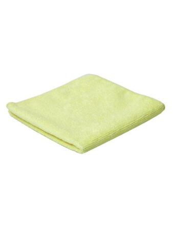 Yellow Microfibre Cloth