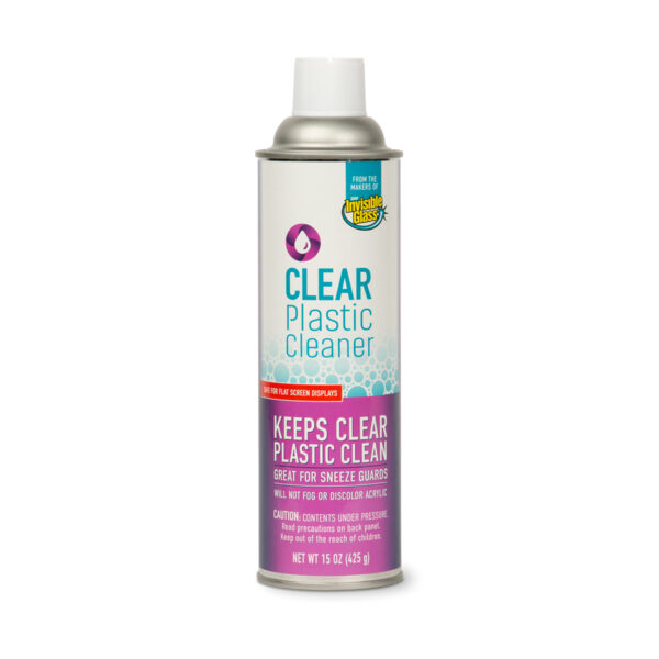 Invisible Glass Clear Plastic Cleaner