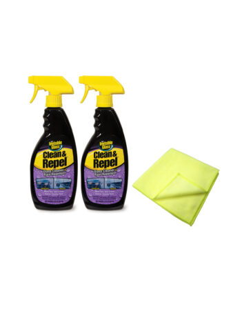 Invisible Glass Clean & Repel Set of 2 With 2 Microfibre Cloths Website